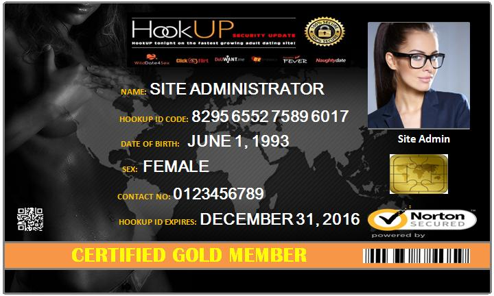 free hookups confirmation page